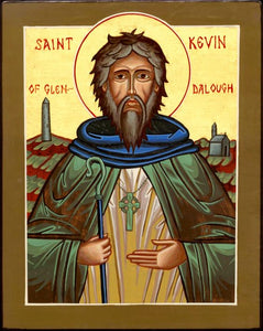 Orthodox St. Kevin Icon