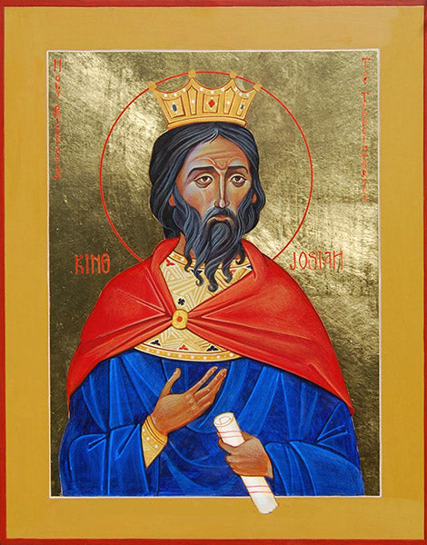 Holy Righteous King Josiah Icon