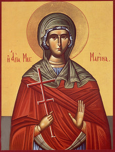 St. Marina Orthodox Icon