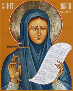 Orthodox St. Maria of Paris Icon