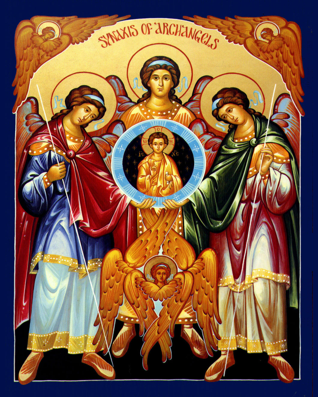 Synaxis of Archangels Icon #2