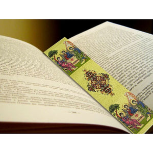 Orthodox Woven Bookmark Holy Trinity