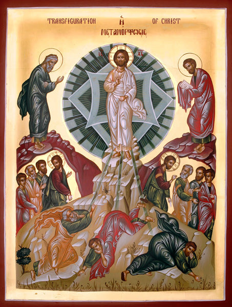 Copy of Transfiguration Orthodox Icon #3