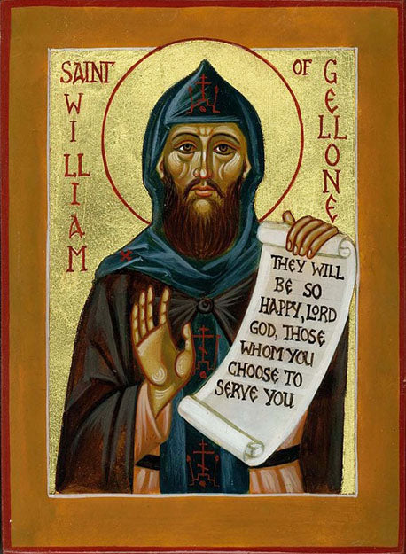 Orthodox St. William of Gellone Icon