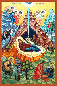 Nativity of our Lord Orthodox Icon #2
