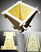 Load image into Gallery viewer, Orthodox Pascha Wooden Cheese Mold