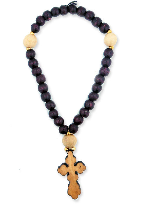 Orthodox Russian Wooden Prayer Beads