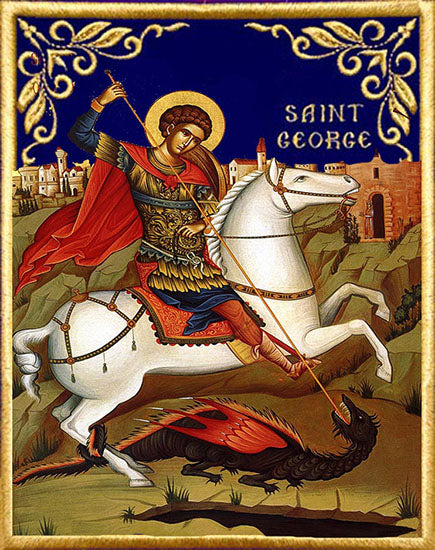 Copy of St. George Orthodox Icon #3