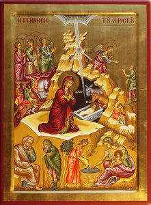 Nativity of our Lord Orthodox Icon #3