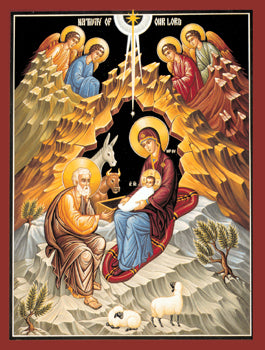 Nativity of our Lord Orthodox Icon #4