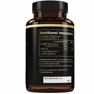 special order only (minimum 6 units) Prowise Liquid Curcumin Liquid Capsules with d3 1000mg 60 caps