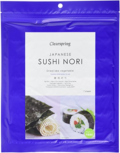 Clearspring Nori Sushi Toasted sheet 17g