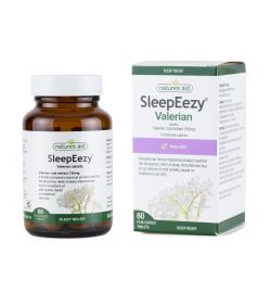 Natures Aid SleepEezy® 150mg (Providing 750mg-900mg of Valerian) 60 Tablets