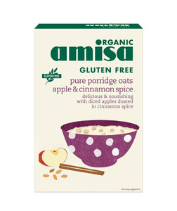 Amisa Org Apple Cinnamon Oats gluten free