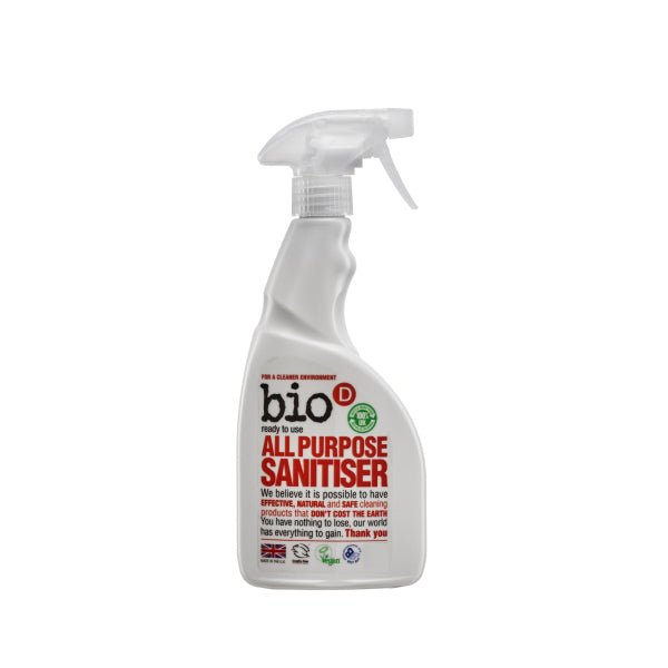 Bio-D All Purpose Sanitiser Surface Spray (formerly Multi Purpose Cleaner) 500ml