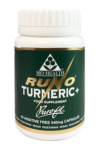Bio Health Runo Turmeric + black pepper 120 capsules