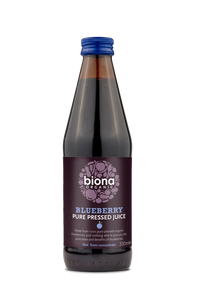 Biona Organic Blueberry Superjuice 100% Pure Pressed Juice not from concentrate
