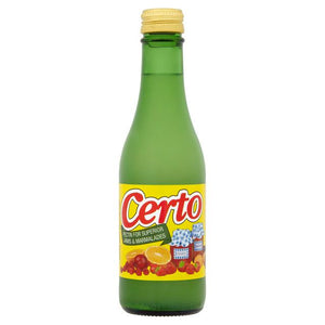 Certo Apple Liquid Pectin, jam setting agent 250g