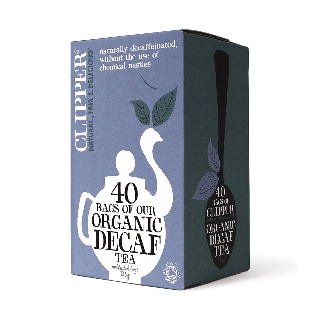 Clipper Organic Everyday Decaf 40 Teabags