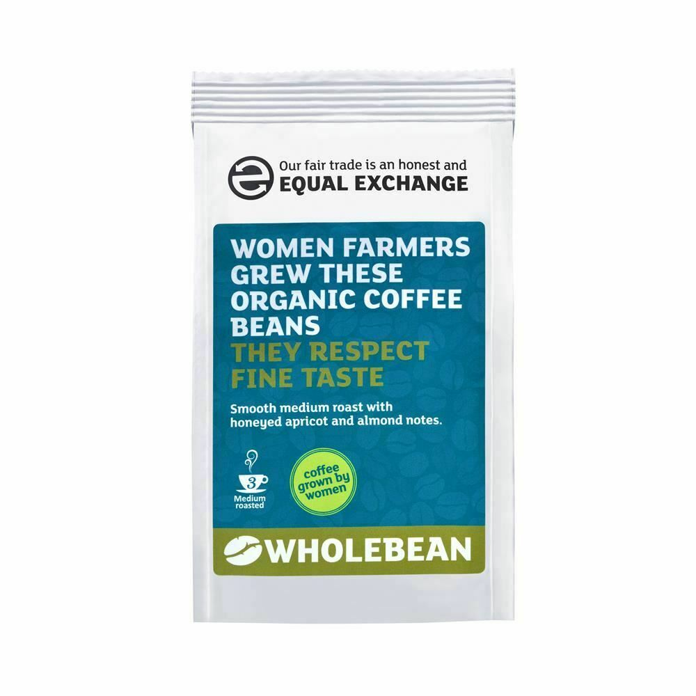 EQUAL EXCHANGE Fairtrade & Organic Women Grew Coffee Beans 227g