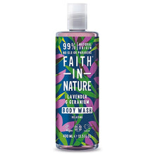 Load image into Gallery viewer, FAITH IN NATURE Body Wash (Choose Fragrance)
