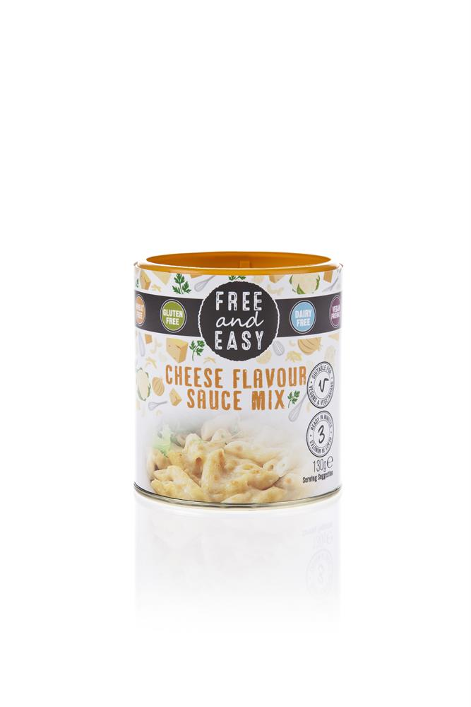 Free & Easy Dairy Free Cheese Sauce Mix 130g