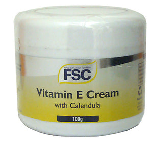FSC 2,000iu Vitamin E Cream with Calendula 100g