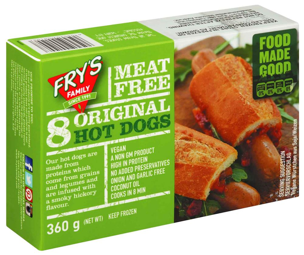 Fry's Vegan Hot Dogs