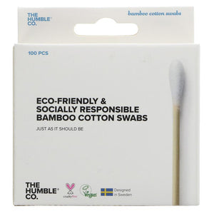 Humble Bamboo Cotton Swabs Buds 100 peices