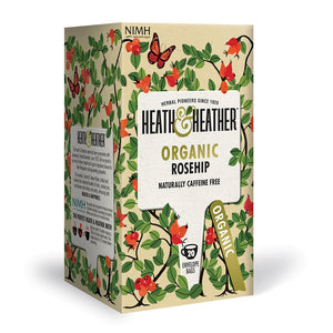 Heath & Heather Organic Rosehip Tea 20 Bags
