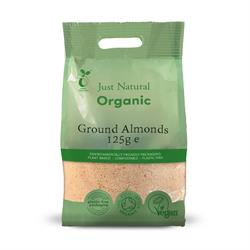 Just Natural Organic Ground Almonds 125g