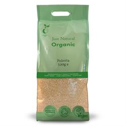 Just Natural Organic Polenta 500g corn meal