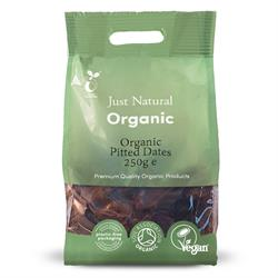 Just Natural Organic Dates Pitted 250g