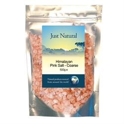 Just Natural Himalayan Pink Salt COARSE