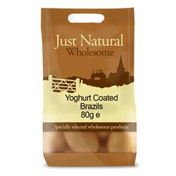 Just Natural Yogurt Coated Brazil Nuts 80g