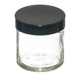 Clear Jar with lid 60ml