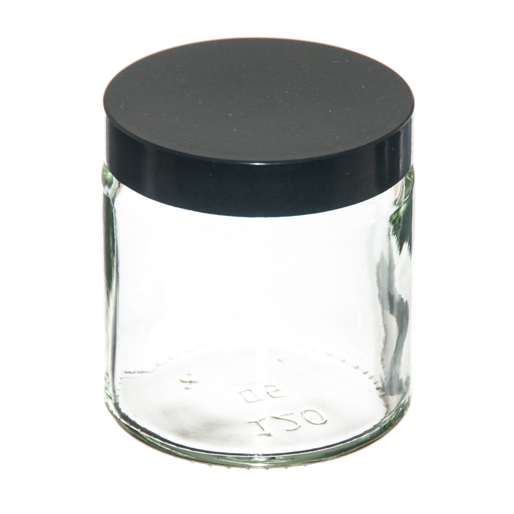 Clear Jar with lid 120ml