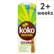 Koko Dairy Free Original Plus Calcium Coconut Milk Alternative 60% MCFAs 1 litre