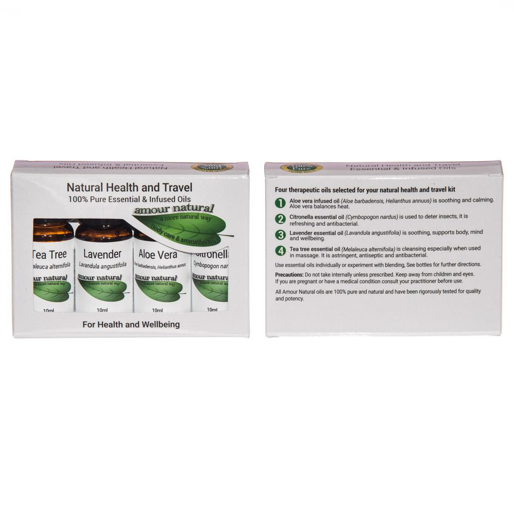 Natural Health & Travel Set
