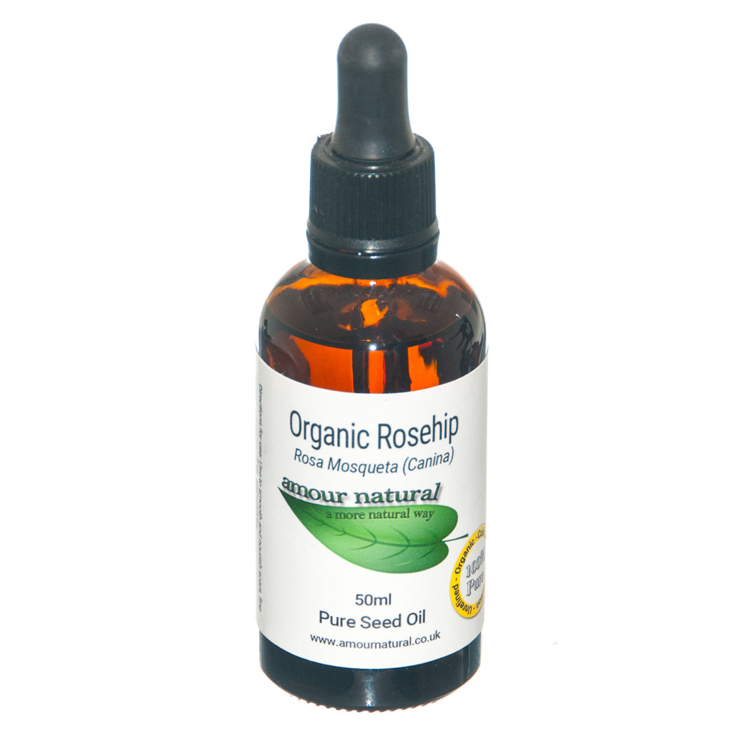Rosehip 50ml Organic Oil