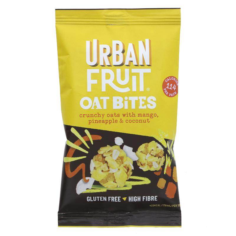 Urban Fruit Oat Bites Mango Pineapple Coconut