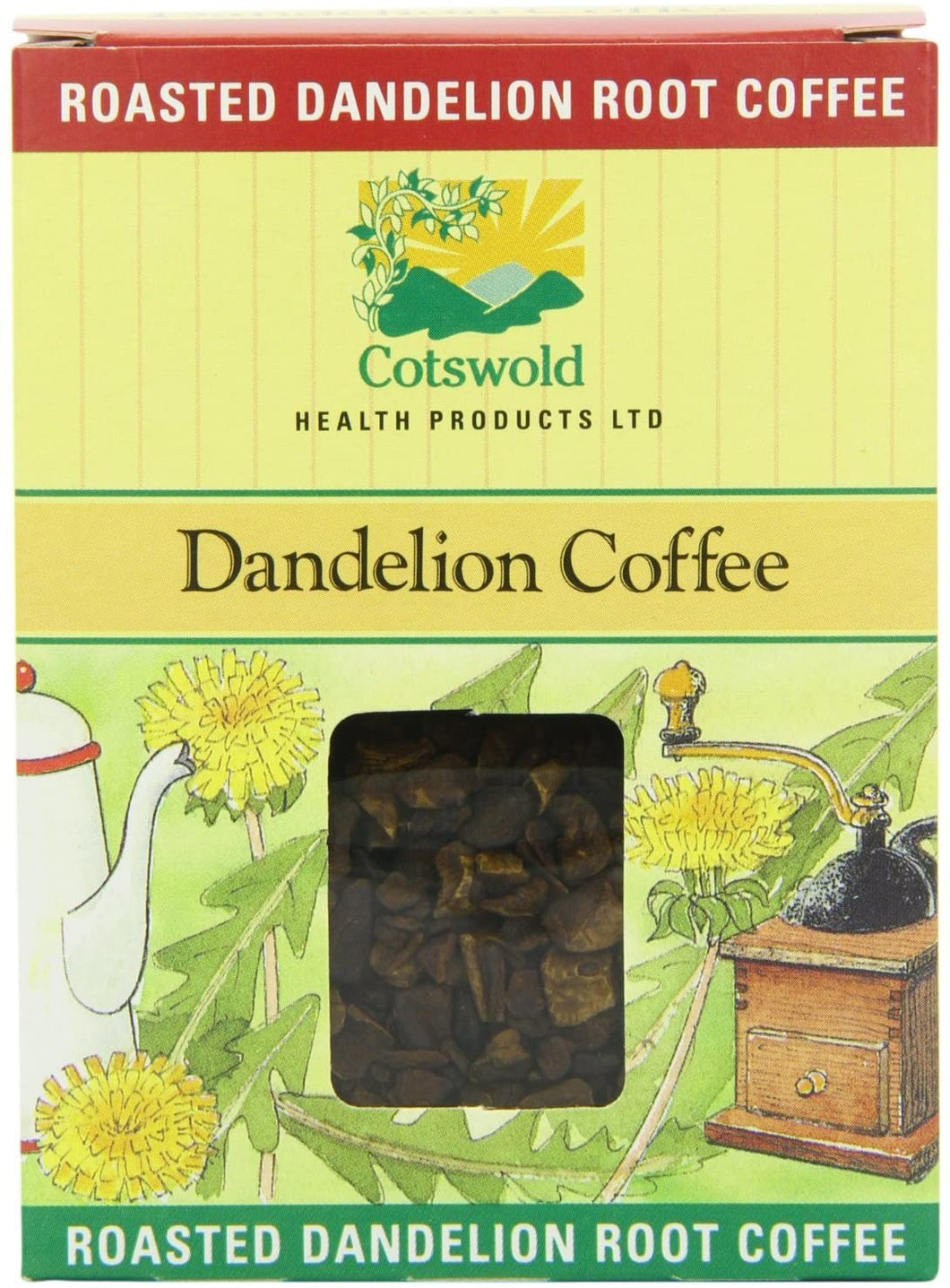COTSWOLD HEALTH PRODUCTS, Dandelion Coffee (Roasted Root), 100g