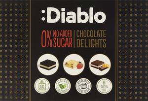 Diablo Chocolate Delights no added sugar 115g
