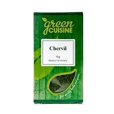 Chervil 15g to be discontinued