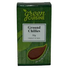 Ground Chillies 50g
