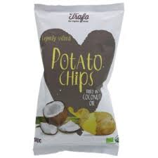 Trafo Org Crisps in Coconut Oil Lightly Salted 40g