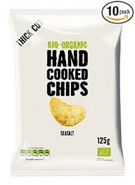Trafo Natural Bio-Organic Hand Cooked Chips Crisps 40g