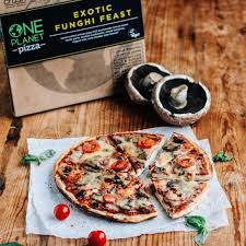 One Planet Exotic Funghi Feast VEGAN Pizza