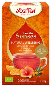Yogi Senses Natural Wellbeing 20 teabags