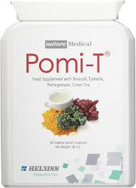 Pomi T 60 Capsules super food with broccoli turmeric pomegranate